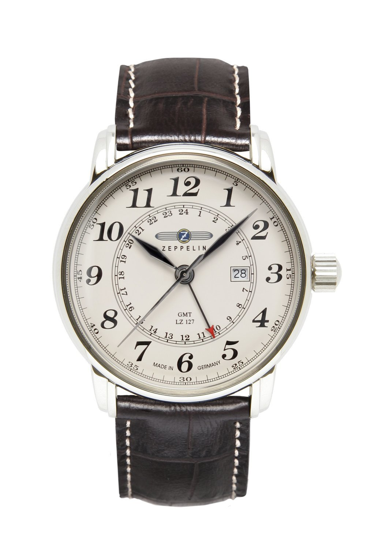 ZEPPELIN LZ-127 Graf Zeppelin GMT-Time Ronda 505 -miesten rannekello