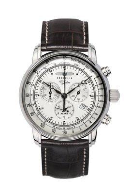 ZEPPELIN 100 Jahre Chronograph Alarm -miesten rannekello