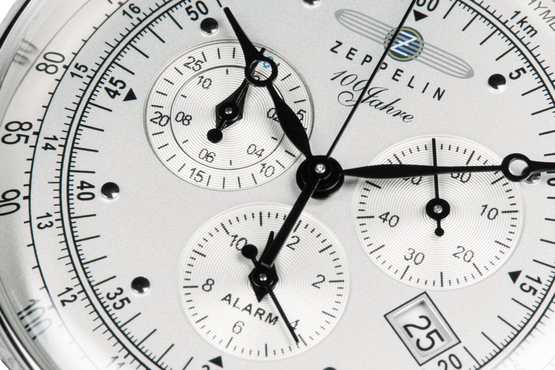 ZEPPELIN 100 Jahre Chronograph Alarm -miesten rannekello 681a75e69d