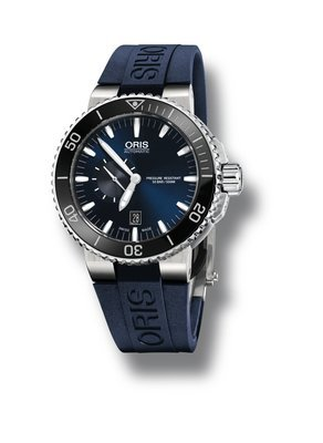 ORIS Aquis Small Second, Date -miesten rannekello