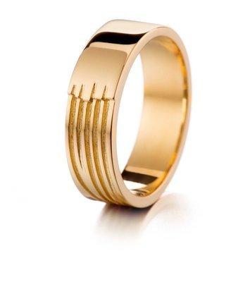 LUMOAVA Taival -vihkisormus kultaa