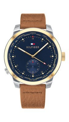 TOMMY HILFIGER Denim Pinnacle -miesten rannekello