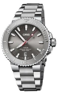 ORIS Aquis Date Relief -miesten rannekello