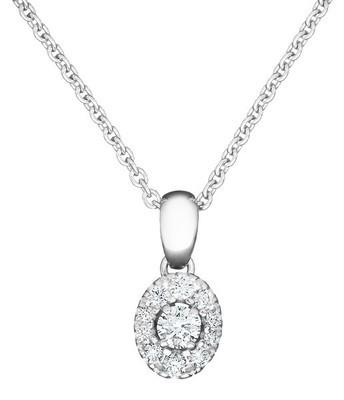 KOHINOOR Olivia -timanttiriipus (ilman ketjua)