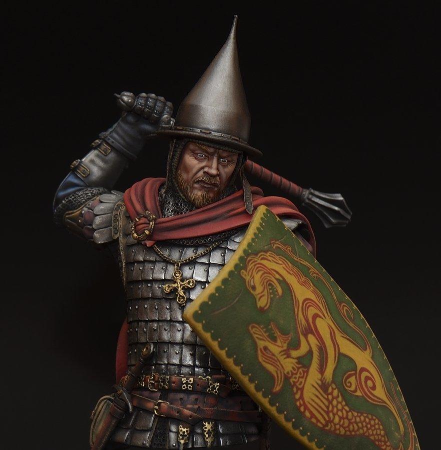 Notable Russian warrior