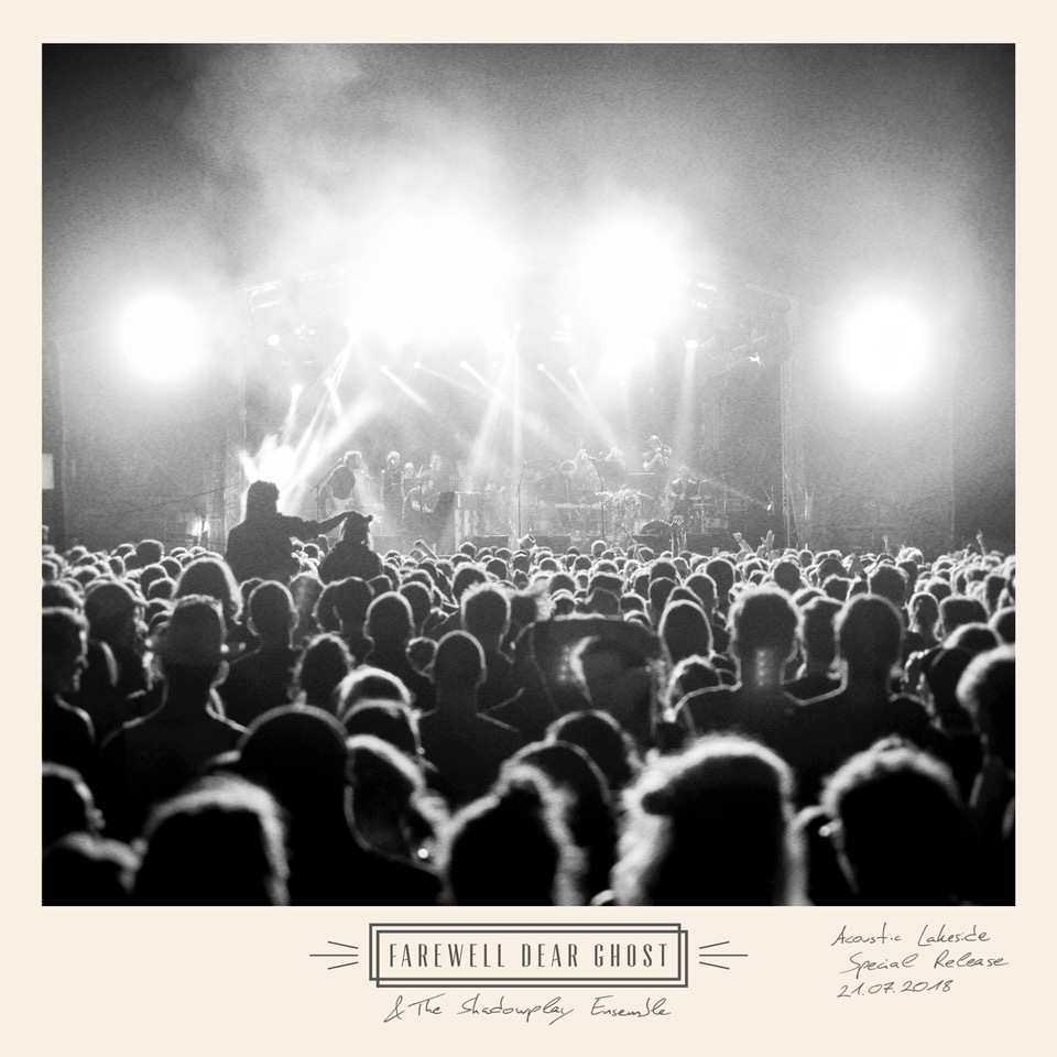 """Farewell Dear Ghost & The Shadowplay Ensemble """"Live at Acoustic Lakeside 2018"""" (CD) INK111CD"""