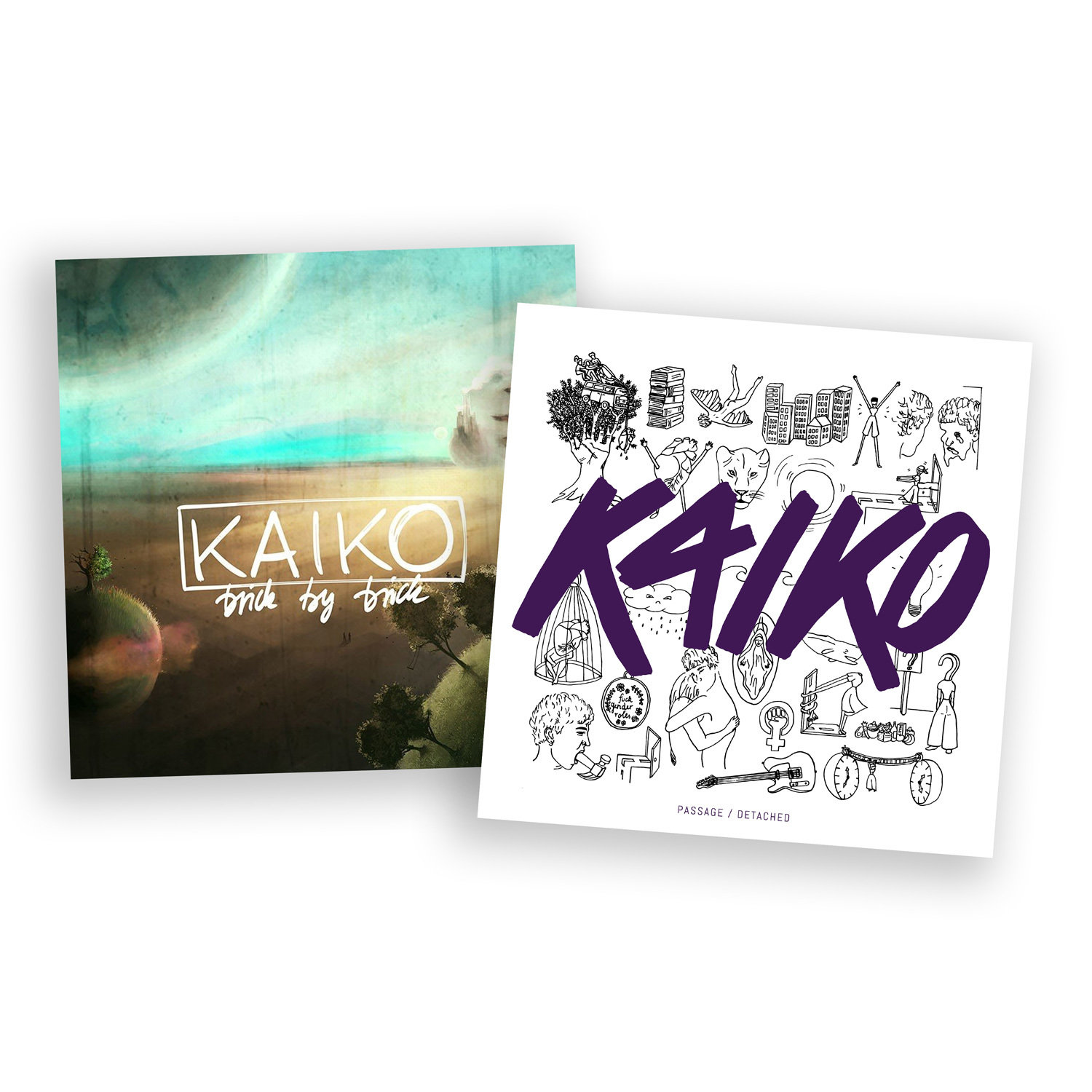 KAIKO Vinyl-Spezial: Brick by Brick (LP) + Passage / Detached (12'' EP) 00001