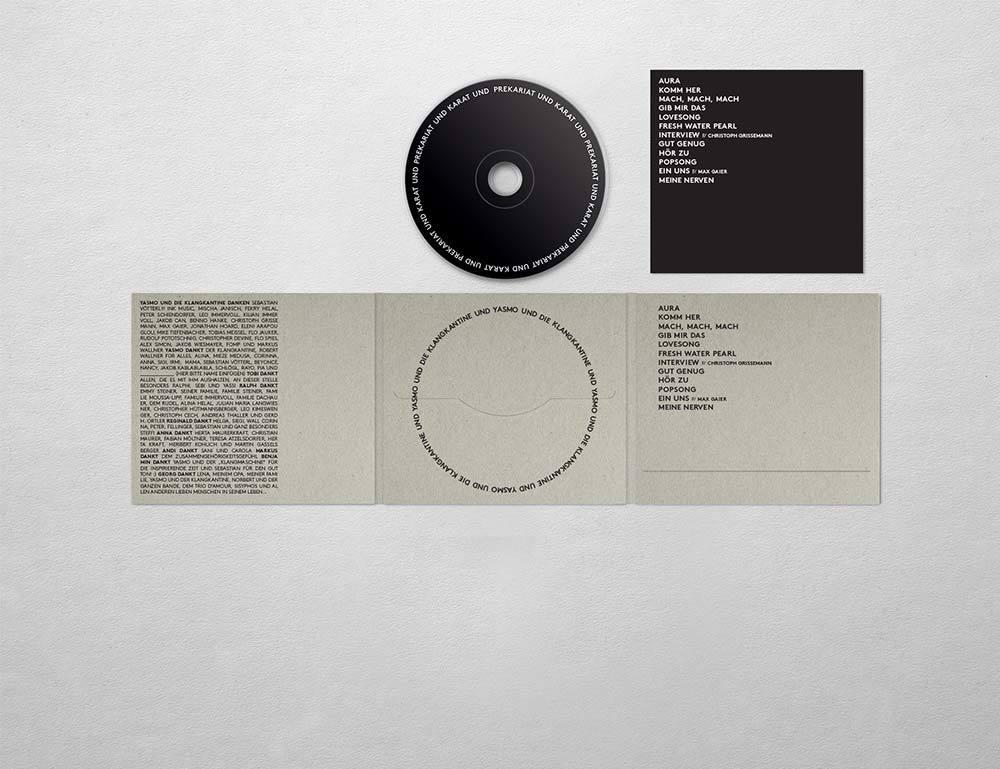 """Yasmo & die Klangkantine: """"Prekariat und Karat"""" (CD)"""
