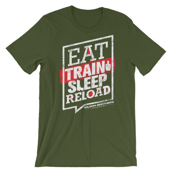Eat.TRAIN.Sleep.Reload - Unisex T-Shirt 00057