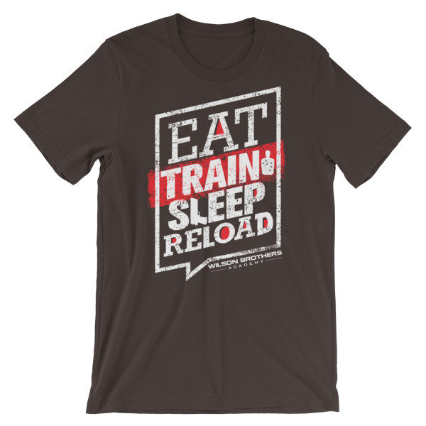 Eat.TRAIN.Sleep.Reload - Unisex T-Shirt