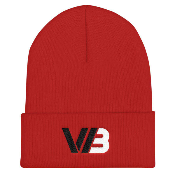 Wilson Brothers Red Beanie 00079