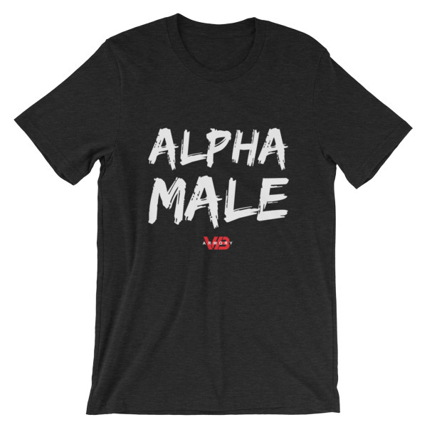 ALPHA MALE - SS Unisex T-Shirt 00096