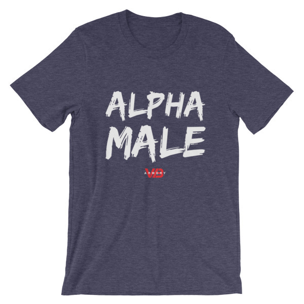 ALPHA MALE - SS Unisex T-Shirt