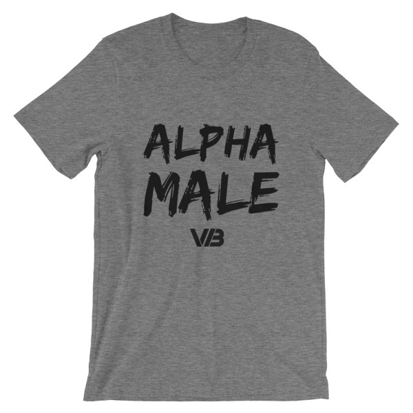 Alpha Male - SS Unisex Tee 00097