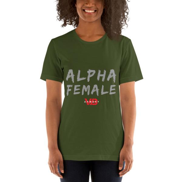 ALPHA FEMALE - SS Unisex Tee