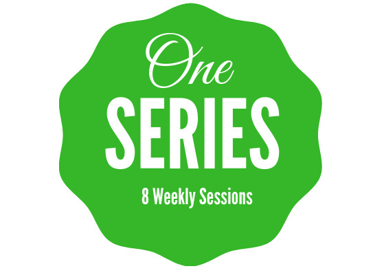 8 consecutive weekly hour-long  sessions, $10 each