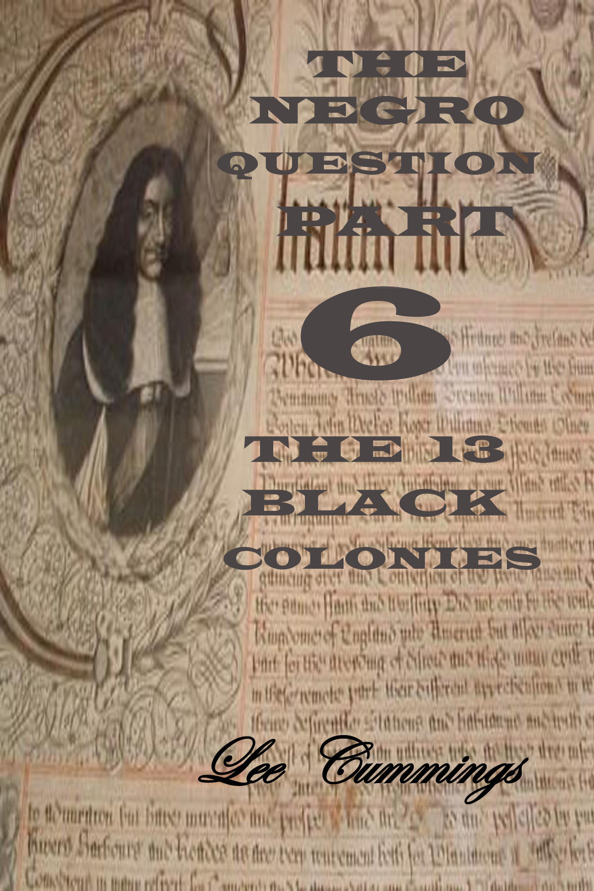 THE NEGRO QUESTION PART 6, THE 13 BLACK COLONIES 00005