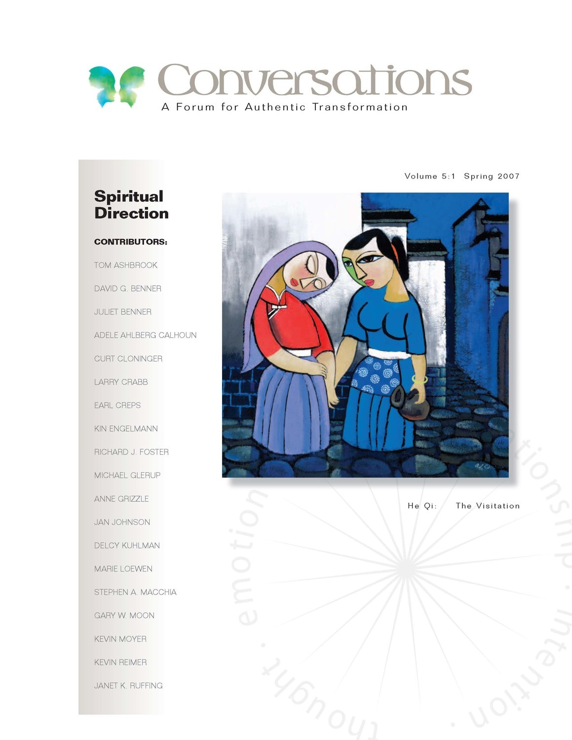 Conversations Journal 5.1 Spiritual Direction (Digital Download - PDF)