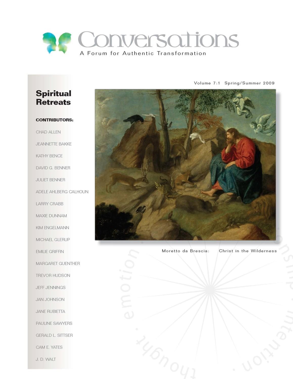 Conversations Journal 7.1 Spiritual Retreats (Hardcopy)