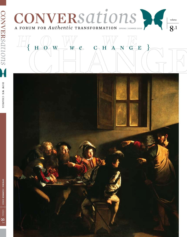 Conversations Journal 8.1 How We Change  (Digital Download - PDF)