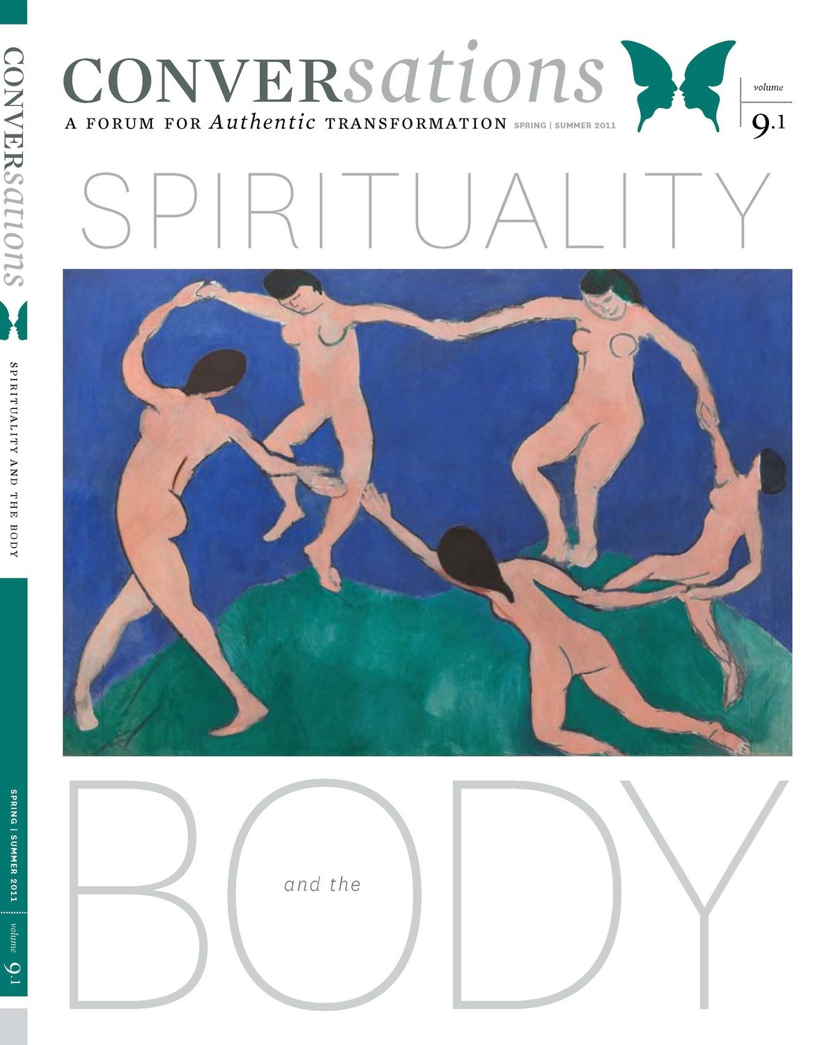 Conversations Journal 9.1 Spirituality and the Body (Hardcopy)