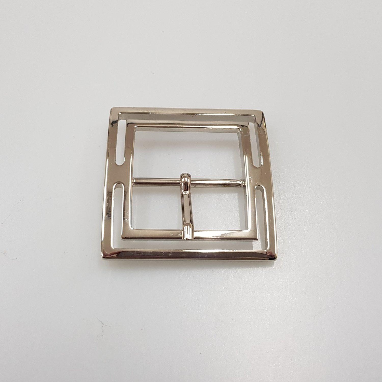 vierkante gesp