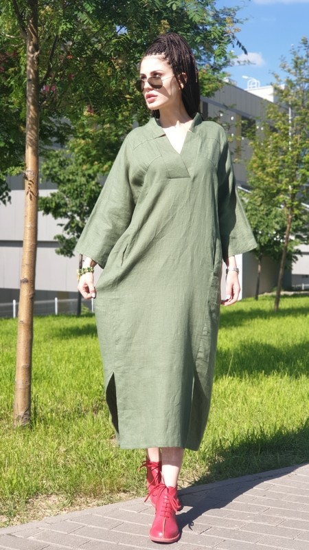Платье, 100%, крой