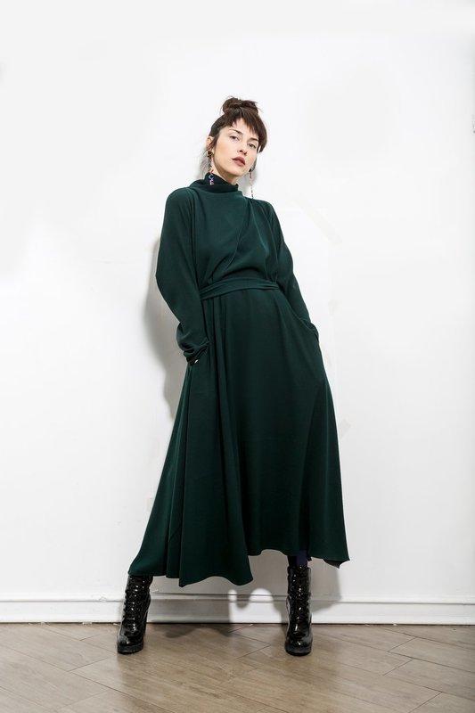 Платье Перекрест приталенное