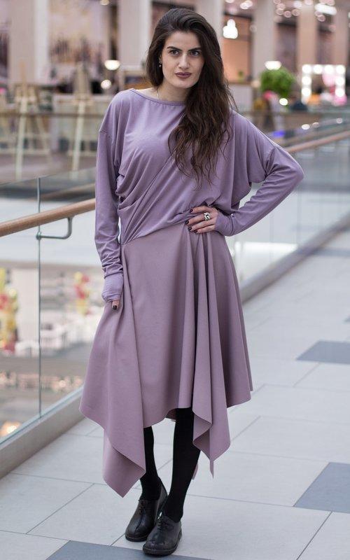Платье с углами