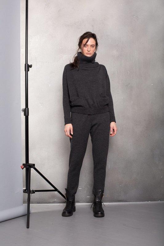 Костюм вязаный со свитером