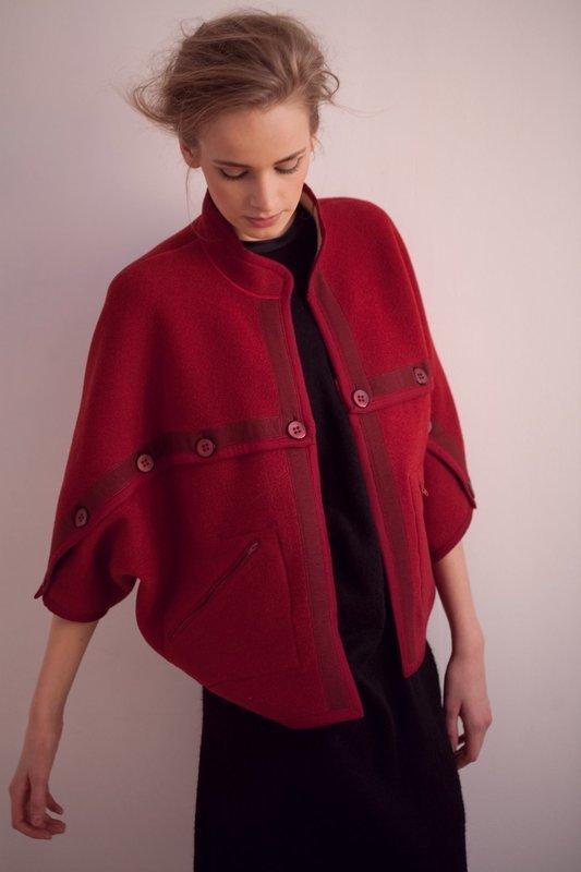 Куртка-перевертыш двусторонняя из шерсти UB Сollection