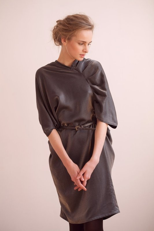 Платье шелковое UB Сollection