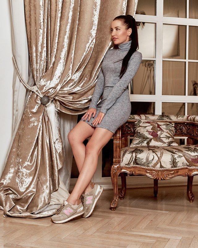 Платье водолазка