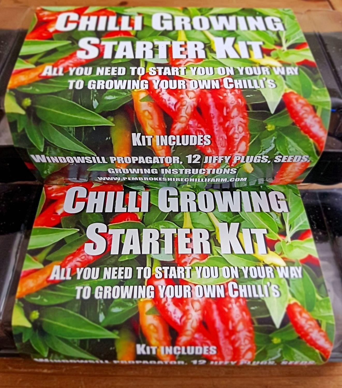 Chilli Growing Starter Kit