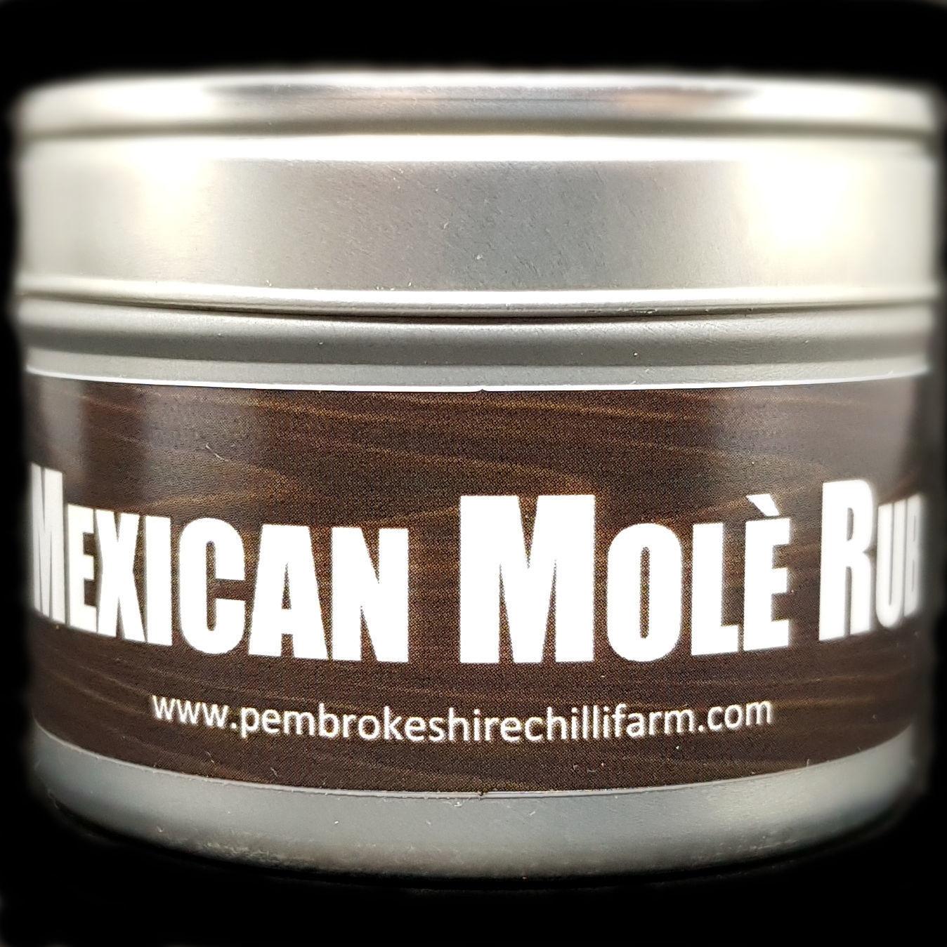Mexican Molè Rub