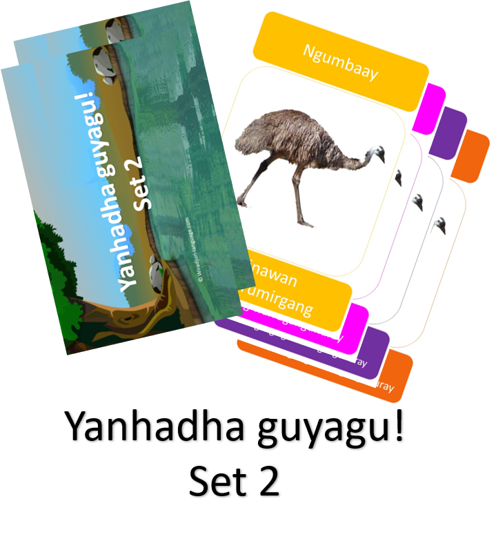 Yanhadha guyagu - Go fish cards (set 2)
