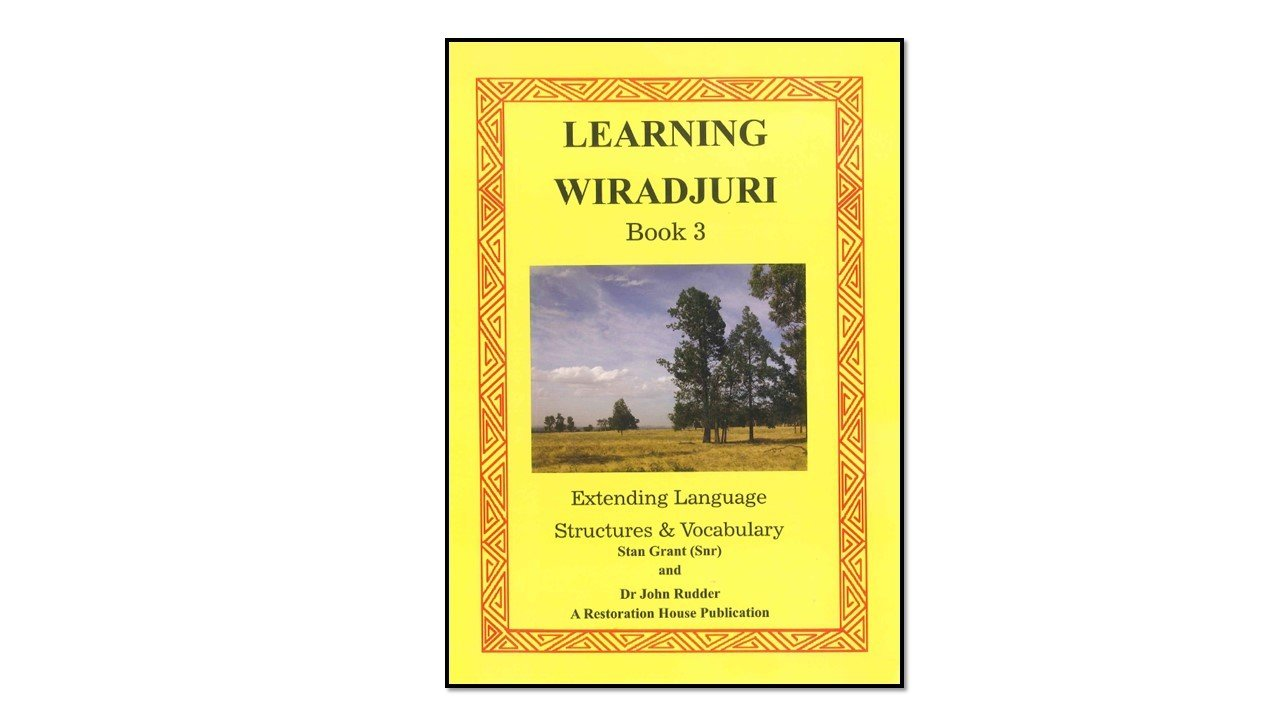 Learning Wiradjuri Book 3