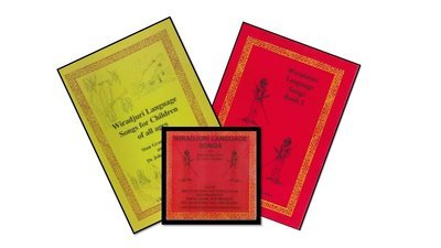Song book 1 and song book 2 with CD of all 12 songs.