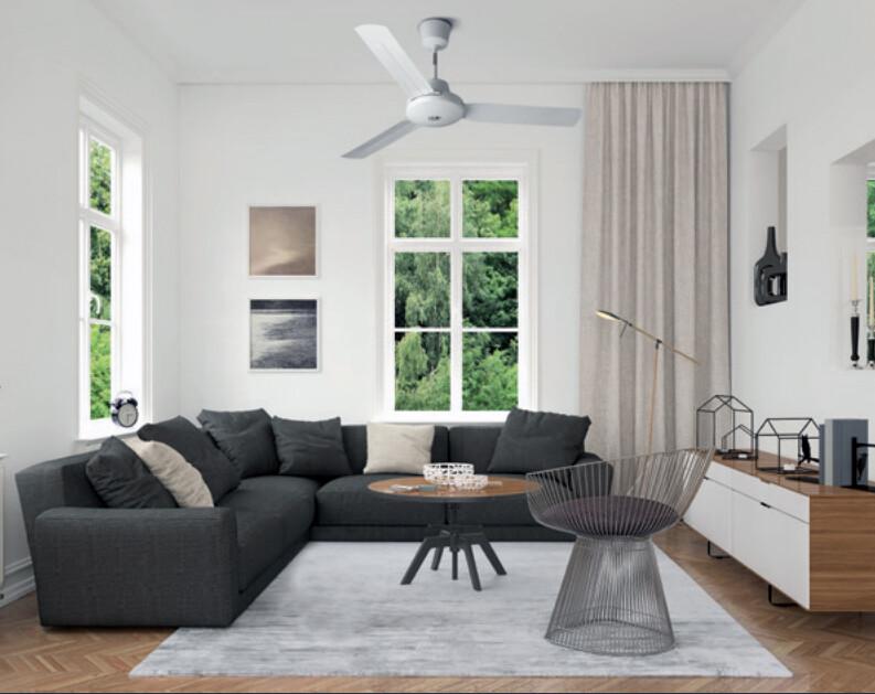 Ventilador de techo blanco - Nordik International Plus