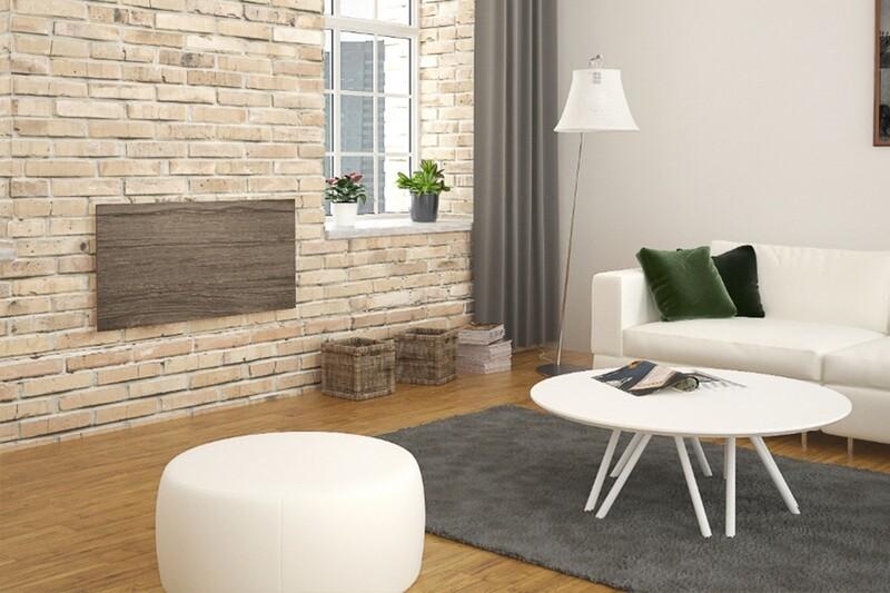 Panel radiante cerámico. Calefacción inteligente. Diseño, eficiencia & Confort.