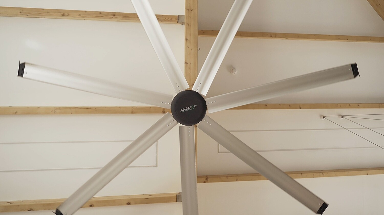 AirPro 150S (100W) - Ventilador industrial de techo