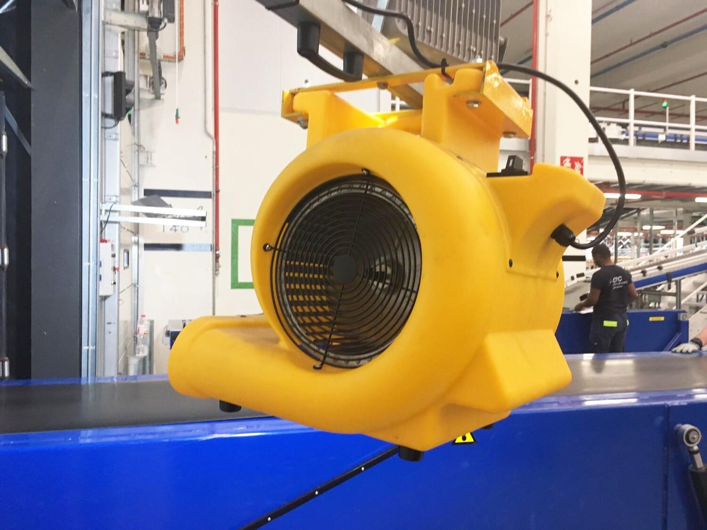 Airgate DC 500- Ventilador renovador de aire industrial
