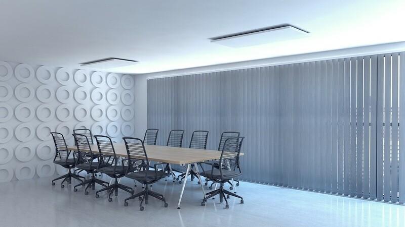 Panel radiante U (Techos y techos registrables)