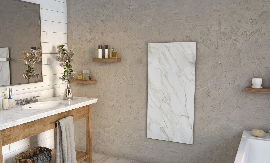 Natural radiant stone panel. Intelligent heating.