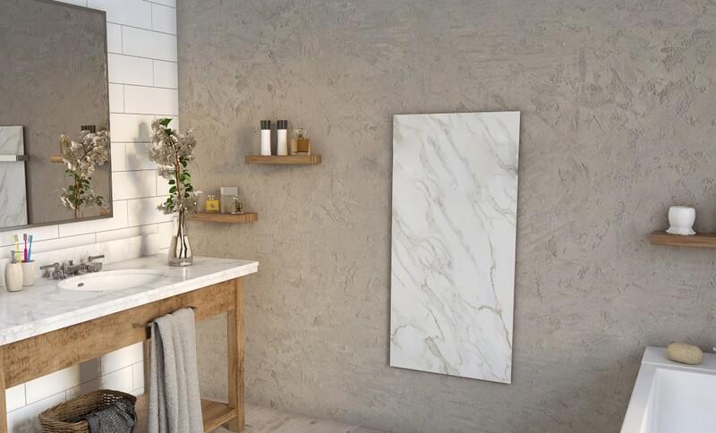 Panel radiante natural de piedra mármol. La Calefacción Inteligente.