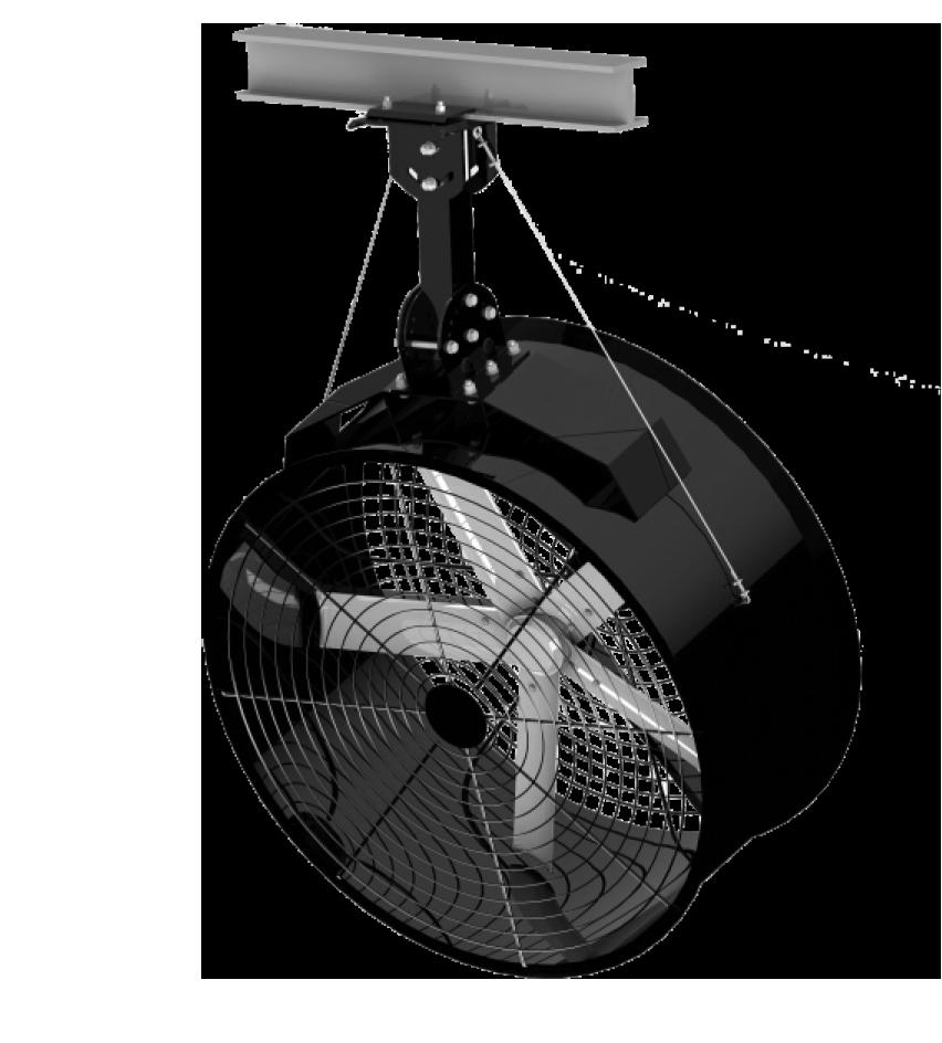 AirBeam 70 - Ventilador industrial de tambor