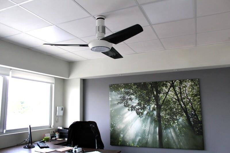 Ventilador de techo personalizable. MOMO Design 120 o 140 cm (Dto 30% incluido)