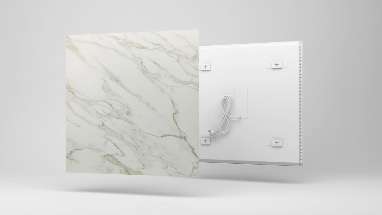Panel radiante de mármol. Piedra natural. Diseño & Confort.