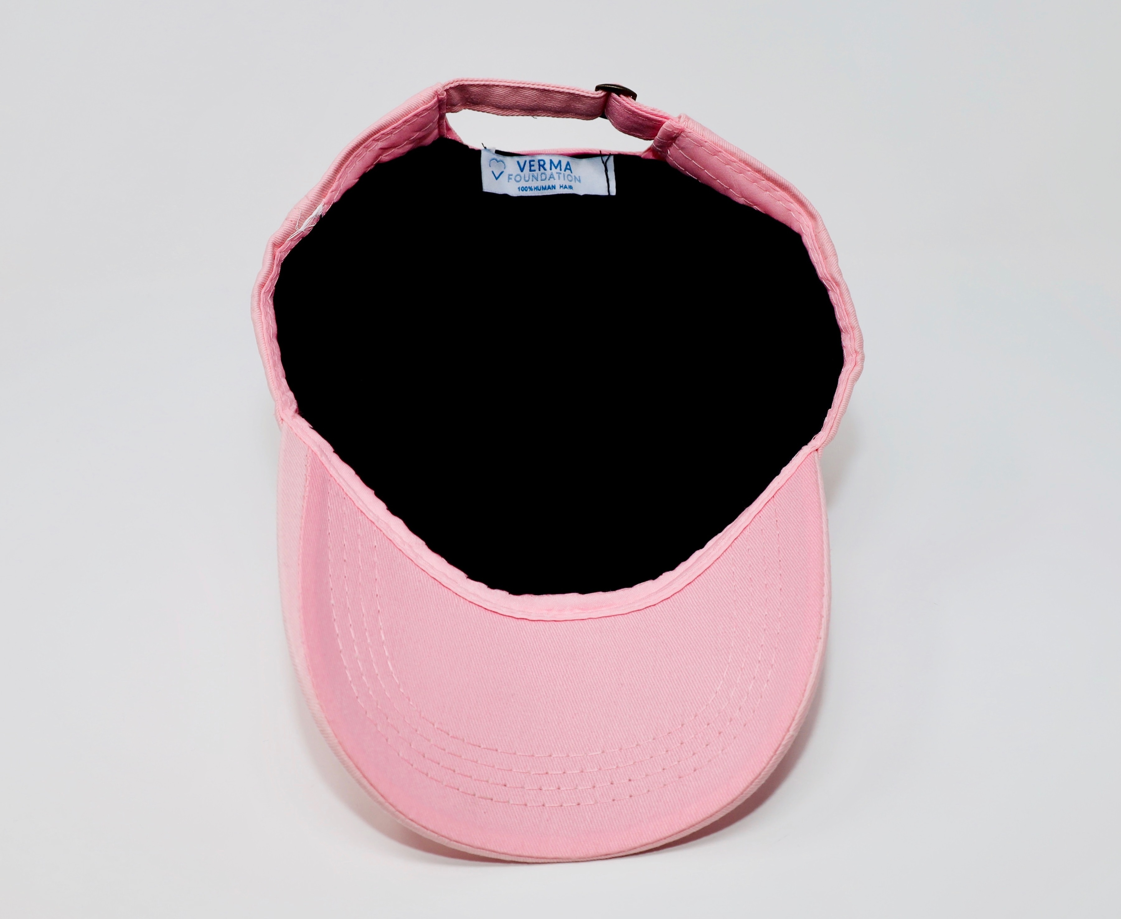 Breast Cancer Awareness Pink Cap with Embroidery