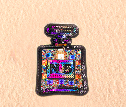 MULTI COLOR PERFUME BOTTLE PATCH